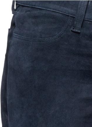 Detail View - Click To Enlarge - J Brand - 'Edita' lambskin suede leggings