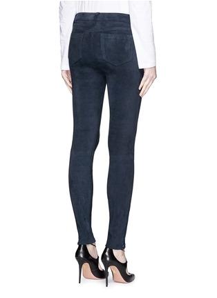 Back View - Click To Enlarge - J Brand - 'Edita' lambskin suede leggings