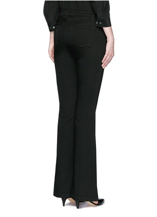 Back View - Click To Enlarge - J Brand - 'Maria' exposed button flared pants