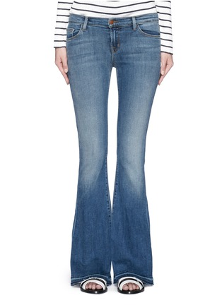 Detail View - Click To Enlarge - J Brand - 'Sneaker Flare' slim fit jeans