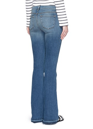 Back View - Click To Enlarge - J Brand - 'Sneaker Flare' slim fit jeans