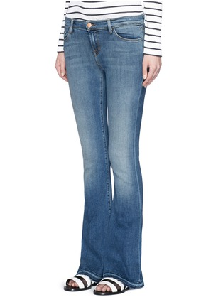 Front View - Click To Enlarge - J Brand - 'Sneaker Flare' slim fit jeans