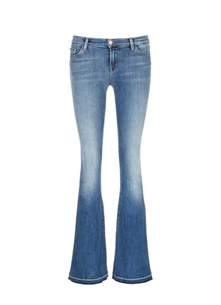 Main View - Click To Enlarge - J Brand - 'Sneaker Flare' slim fit jeans