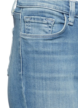 Detail View - Click To Enlarge - J Brand - 'Capri' cropped skinny jeans