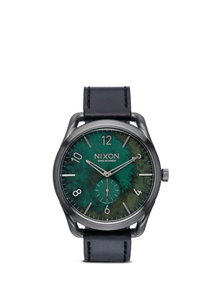 Main View - Click To Enlarge - Nixon - 'C45 Leather' watch