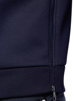 Detail View - Click To Enlarge - Neil Barrett - x Interview 'Brad Bieber' hybrid print sweatshirt