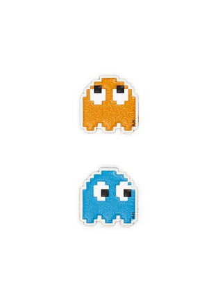 Main View - Click To Enlarge - ANYA HINDMARCH - 'Pac Man' leather sticker set