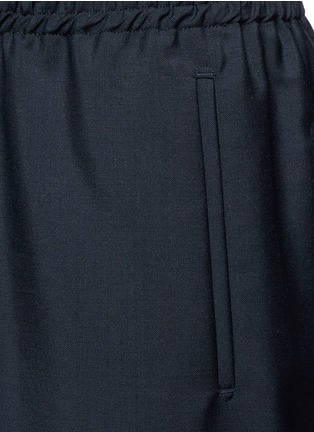 Detail View - Click To Enlarge - Balenciaga - Relaxed fit seamless wool-Mohair jogging pants