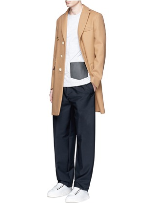 Figure View - Click To Enlarge - Balenciaga - Relaxed fit seamless wool-Mohair jogging pants