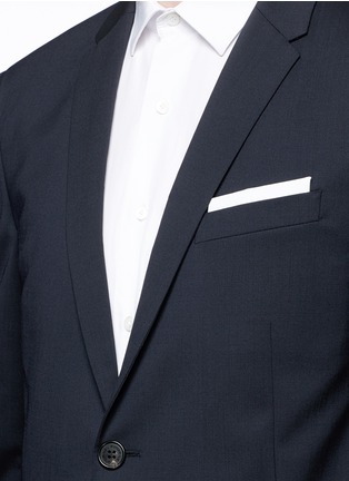 Detail View - Click To Enlarge - Neil Barrett - Slim fit wool suit
