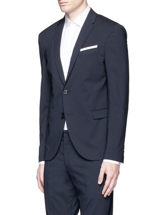 Front View - Click To Enlarge - Neil Barrett - Slim fit wool suit