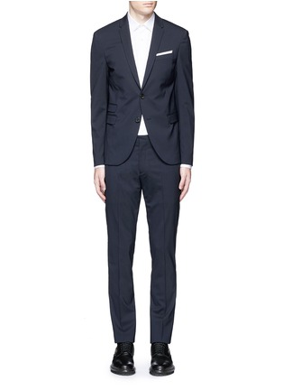 Main View - Click To Enlarge - Neil Barrett - Slim fit wool suit