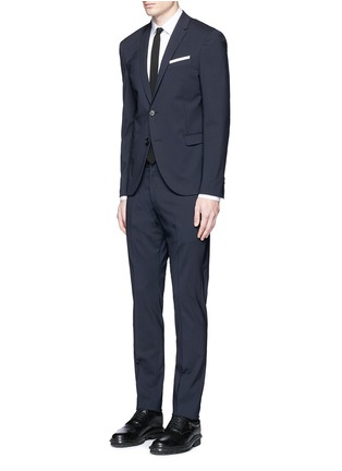 Figure View - Click To Enlarge - Neil Barrett - Slim fit wool suit