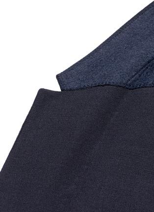 Detail View - Click To Enlarge - Neil Barrett - Slim fit bistretch gabardine blazer