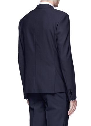 Back View - Click To Enlarge - Neil Barrett - Slim fit bistretch gabardine blazer