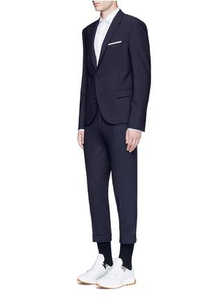 Figure View - Click To Enlarge - Neil Barrett - Slim fit bistretch gabardine blazer
