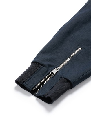 Detail View - Click To Enlarge - NEIL BARRETT - Skinny fit zip cuff cargo pants