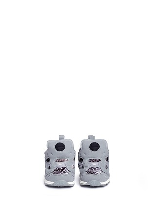 Figure View - Click To Enlarge - Reebok - x Disney 'Versa Pump Fury JB' snakeskin embossed toddler sneakers