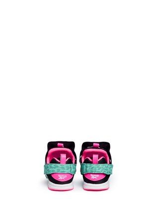 Back View - Click To Enlarge - Reebok - Versa Pump Fury SYN' animal print toddler sneakers