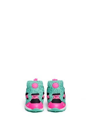 Figure View - Click To Enlarge - Reebok - Versa Pump Fury SYN' animal print toddler sneakers