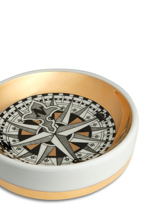 Detail View - Click To Enlarge - Fornasetti - Rosa dei Venti round ashtray