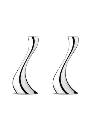 Main View - Click To Enlarge - Georg Jensen - Cobra medium candelabra set