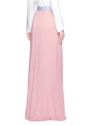Back View - Click To Enlarge - Roksanda - 'Leighton' ladder stitch seam crepe skirt