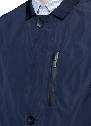 Detail View - Click To Enlarge - Armani Collezioni - Water-repellent jacket
