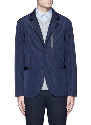 Main View - Click To Enlarge - Armani Collezioni - Water-repellent jacket
