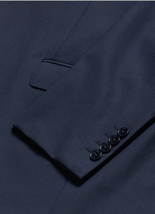- Armani Collezioni - 'Metropolitan' pick stitch wool suit