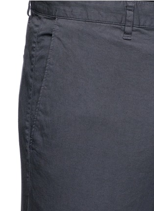 Detail View - Click To Enlarge - Theory - 'Zaine' cotton straight leg pants