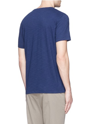 Back View - Click To Enlarge - THEORY - 'Koree' cotton slub jersey T-shirt