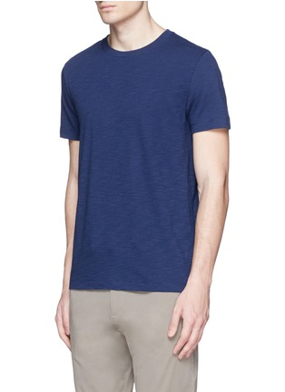 Front View - Click To Enlarge - THEORY - 'Koree' cotton slub jersey T-shirt