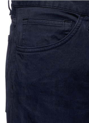 Detail View - Click To Enlarge - Theory - 'Haydin' slim straight cotton chinos