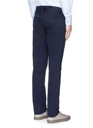 Back View - Click To Enlarge - Theory - 'Haydin' slim straight cotton chinos