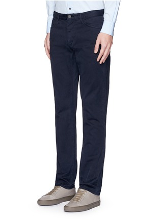 Front View - Click To Enlarge - Theory - 'Haydin' slim straight cotton chinos