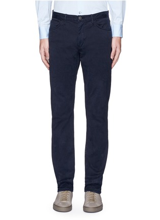 Main View - Click To Enlarge - Theory - 'Haydin' slim straight cotton chinos