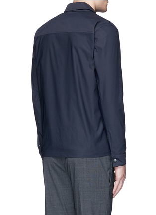 Back View - Click To Enlarge - THEORY - 'Drato' tech fabric shirt jacket
