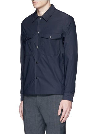 Front View - Click To Enlarge - THEORY - 'Drato' tech fabric shirt jacket