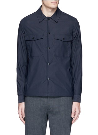 Main View - Click To Enlarge - THEORY - 'Drato' tech fabric shirt jacket