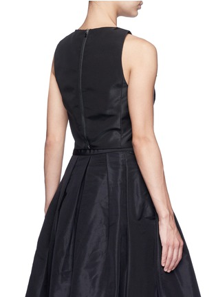 Back View - Click To Enlarge - Tibi - Silk faille cropped top