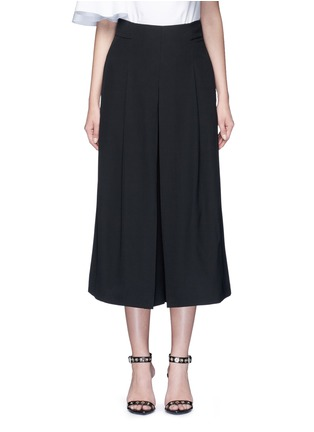 Main View - Click To Enlarge - Tibi - Inverted pleat silk culottes