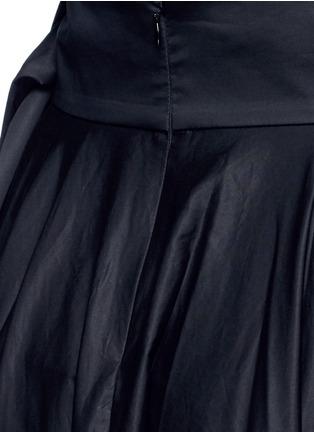 Detail View - Click To Enlarge - TIBI - Obi sash pleat poplin skirt