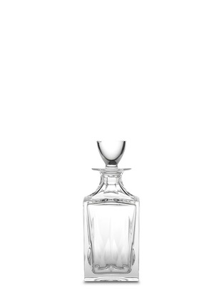Main View - Click To Enlarge - Saint-Louis Crystal - Cerdagne square decanter