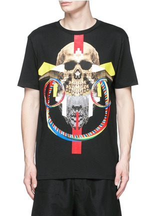 Main View - Click To Enlarge - Marcelo Burlon - 'Batavia' skull print T-shirt