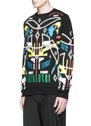 Front View - Click To Enlarge - Marcelo Burlon - 'Osorno' collage print sweatshirt