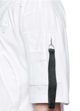 Detail View - Click To Enlarge - Marcelo Burlon - 'Cabaiguan' patch embroidery T-shirt