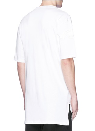 Back View - Click To Enlarge - Marcelo Burlon - 'Cabaiguan' patch embroidery T-shirt