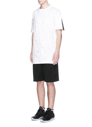 Figure View - Click To Enlarge - Marcelo Burlon - 'Cabaiguan' patch embroidery T-shirt