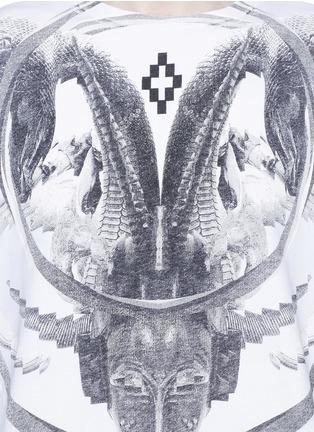 Detail View - Click To Enlarge - Marcelo Burlon - 'Aurora' print sweatshirt